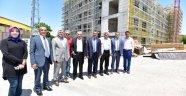 Şahin, Battalgazi Belediyesi Yeni Hizmet Binası İnşaatını Gezdi
