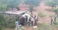 Otomobil Kayısı Bahçesine Uçtu: 3 Yaralı