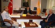 MHP'den Rektör Kızılay'a hayırlı olsun ziyareti