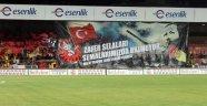 Yeni Malatyaspor taraftarından 'darbe' koreografisi