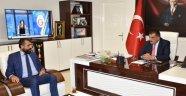 Malatya Tarım Platformu Yönetimi, Başkan Gürkan'ı ziyaret etti