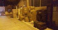 Malatya'da 218 bin paket kaçak sigara ele geçirildi