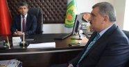 Başkan Gürkan'dan minibüsçü ve servisçilere teşekkür ziyareti