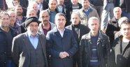 Kiraz, Köy Garajı girişinin toprakla kapatılmasına tepki gösterdi