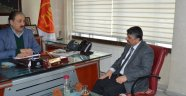 Akın'dan MESOB Başkanı Keskin'e Ziyaret