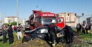 Malatya'da trafik kazası: 1 ölü 2 yaralı