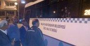 Halk otobüsüne silahlı saldırı