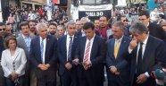 CHP'li vekiller Güvenpark'ta volta atma eylemi yaptı
