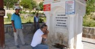 Malatya'daki bu sudan içmek için akın ediyorlar!