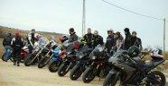 Motosikletçiler 'Zeytin Dalı Harekatı'na' destek için yola çıktı