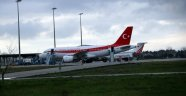 Cumhurbaşkanı Erdoğan'ın uçağı havalimanına inemedi!