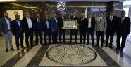 MTB yönetiminden Bakan Tüfenkci'ye ziyaret
