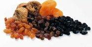 Kuru meyveler sağlıklı gıda