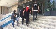 Anne kız uyuşturucu ticaretinden tutuklandı