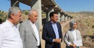 Hasançelebi'deki viyadük inşaatı sürüyor