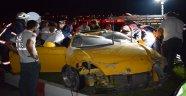 Otomobil takla attı: 2 ağır yaralı