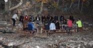 Kayaarası Kanyonu'na yoğun ilgi