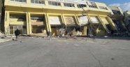 İnönü Stadı'nın tribünleri yıkıldı