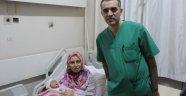 Yılın ilk bebeği Fatma Nisa oldu