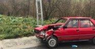 Zonguldak'ta iki araç kafa kafaya çarpıştı: 1 yaralı