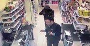 Pompalı tüfekle market soygunu