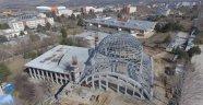 Üniversite Cami inşaatı devam ediyor