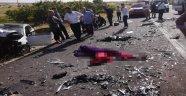 Feci kaza: 2 ölü 2 yaralı