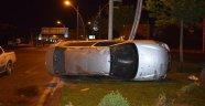 Ehliyetsiz sürücü kaza yaptı: 1 yaralı