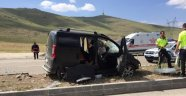 İki ayrı trafik kazası:  10 yaralı