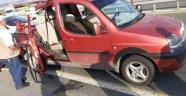 Hafif ticari araç tıra çarptı: 1 ölü