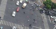 Çin'de feci kaza: 3 ölü, 10 yaralı