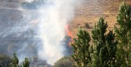 Hekimhan'da korkutan yangın