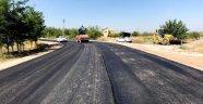 İskele yolunda asfaltlama çalışmaları