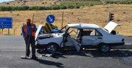 Tavşantepe'de  kaza: 3 yaralı