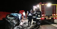 Yozgat'ta trafik kazası: 1 uzman onbaşı hayatını kaybetti