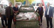Çiftçilere hibe destekli yonca tohumu