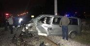 Kütahya'da trafik kazası: 1 ağır yaralı