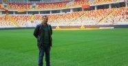 Stadyumun zemini bakıma alındı