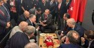 Erdoğan'a dosya sundu