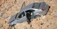 Otomobil şarampole uçtu: 5 yaralı