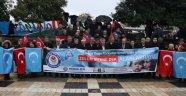 Doğu Türkistan'daki zulme tepki