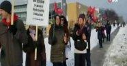 Kanada'da öğretmenlerden 1 günlük grev