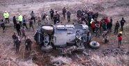 Polis zırhlı aracı kaza yaptı: 5 yaralı