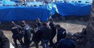 Musabeyli ilçesinde göçük: 1 yaralı