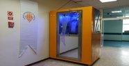 İÜ.'de dezenfeksiyon kabini üretildi