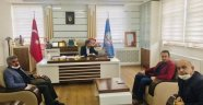Müdürler ile telekonferans toplantısı