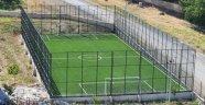 Futbol voleybol ve basketbol sahalarının yapımı tamamlandı