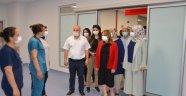 Rektör Karabulut'tan hastane ziyareti