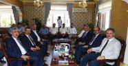 AK Parti heyetinden Kuluncak'a ziyaret