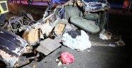 Aksaray-Konya yolunda feci kaza: 2 ölü